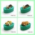 13 Los Perros forma de silicona fondant pastel de molde de decoración Corgi Bulldog chocolate polímero arcilla molde pastel herramienta para hornear