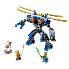 2015 New LELE/BELA Phantom Ninja Electro Mech Building Blocks Christmas Toys Gift Minifigures Ninjagoed