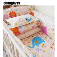 Baby Crib Bedding Set 2016 New Baby Bedding Set Baby Cot Crib Bedding Set Cartoon Animal