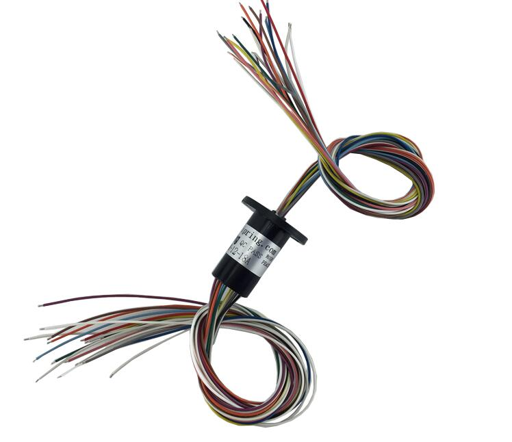 M Slipring Mini Slip Ring Dia 12 7mm 18 Channel 2A MSM 12 18A MSM 12