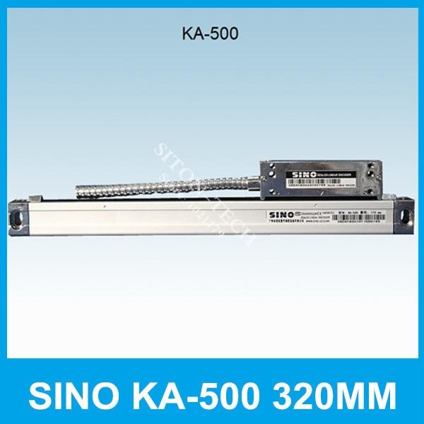 Free shipping SINO KA-500 320mm 5um absolute linear encoder  KA500 0.005mm 320mm optical encoder for Spark machine CNC lathe free shipping high precision easson gs11 linear wire encoder 850mm 1micron optical linear scale for milling machine cnc