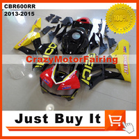 Fit For HONDA CBR600RR 2013 2014 2015 OEM Customize GEICO MOTORCYCLE FAIRING KIT Protective Cover ABS