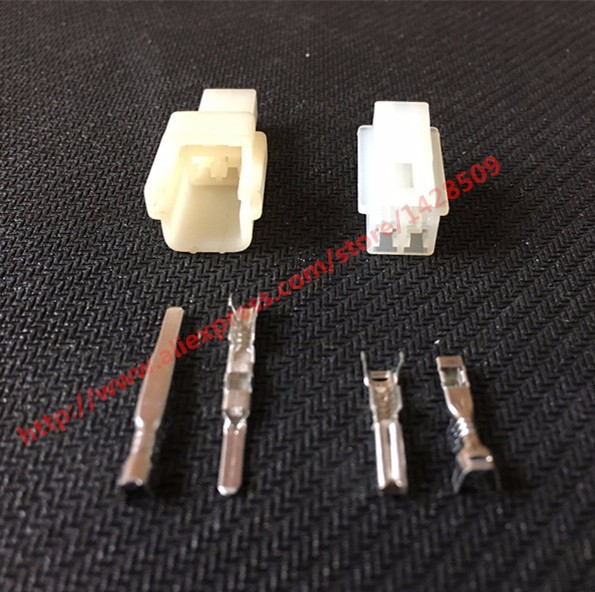 5 Set Sumitomo 2 Pin Female Male Kit Wire Harness Connector Motorcycle 60901031 6090: Wiring Harness Connector Pins At Johnprice.co