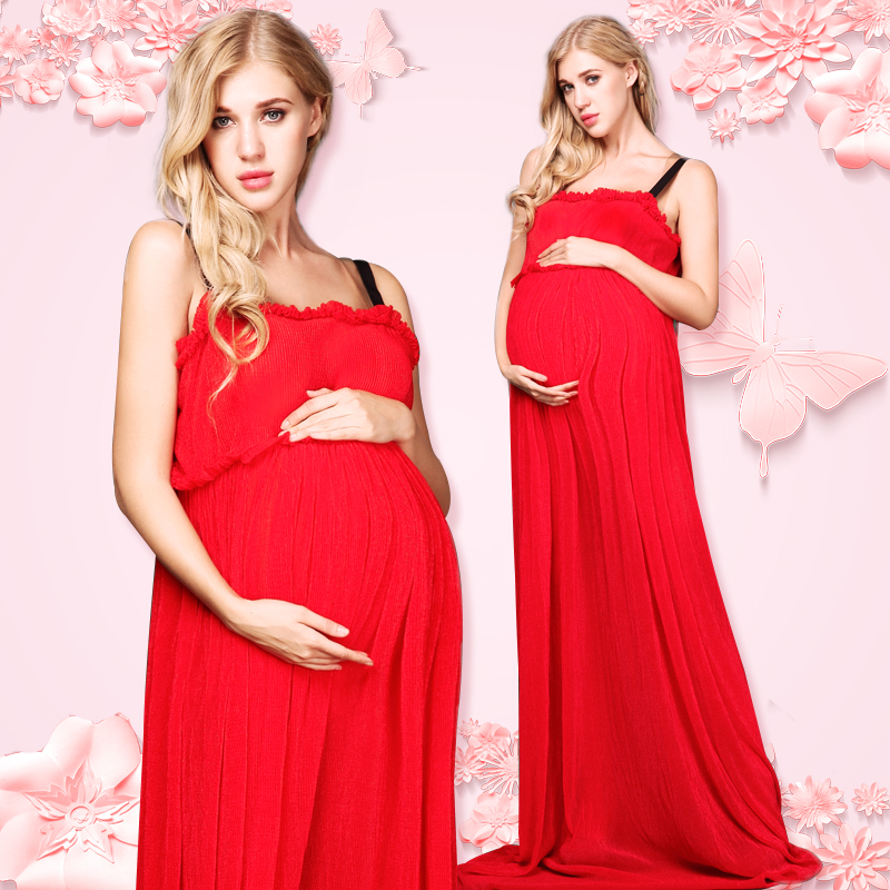 Women Skirt Maternity Photography Props Chiffon Gown Pregnancy Clothes Maternity Dresses For pregnant Photo Shoot Clothing smdppwdbb women maternity gown photography skirt maternity photography props pregnancy maternity dresses pregnant trumpet