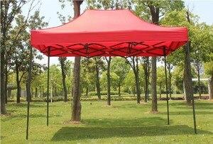 Image 3 - 屋外広告展示テント車キャノピーガーデンガゼボイベントテント救済テント太陽のシェルター 3*3 メートル