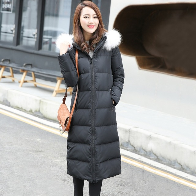 Aliexpress.com : Buy Winter Jacket Women Parka 2016 White Duck ...