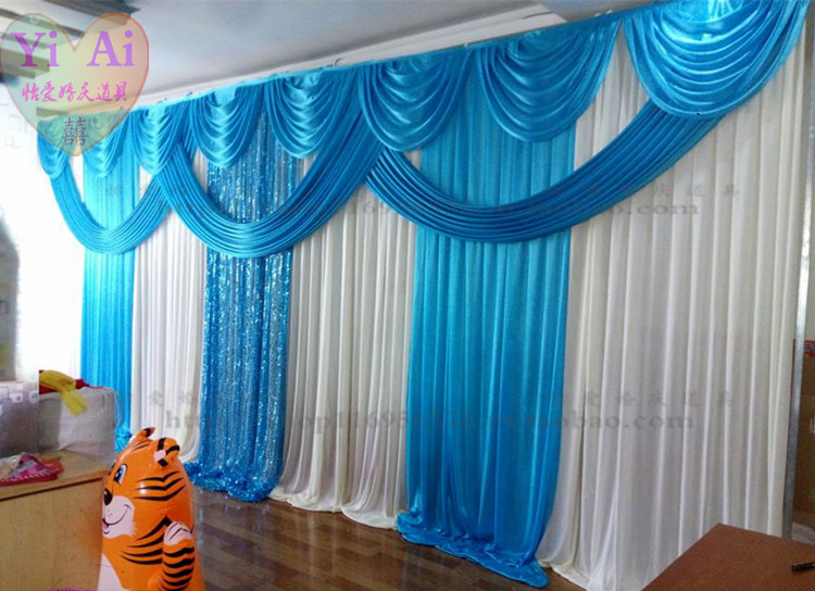 Curtains Ideas blue stage curtains : Online Buy Wholesale blue stage curtains from China blue stage ...