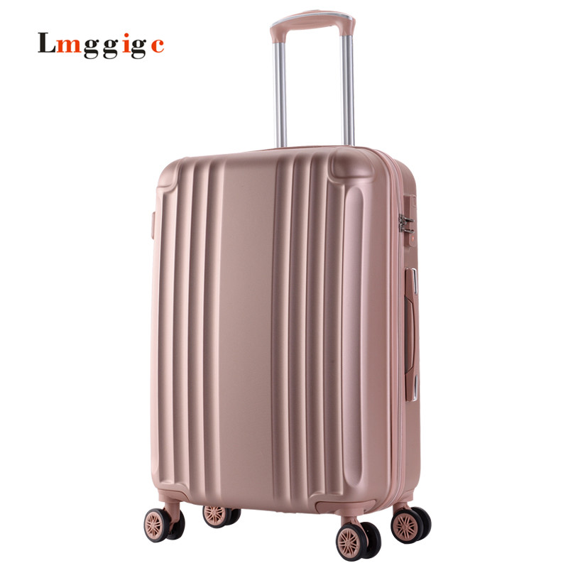 Female Multiwheel Luggage,ABS shell Suitcase,strong Nniversal wheel Carry-Ons case,Password Trolley Carrier Travel box travel aluminum blue dji mavic pro storage bag case box suitcase for drone battery remote controller accessories