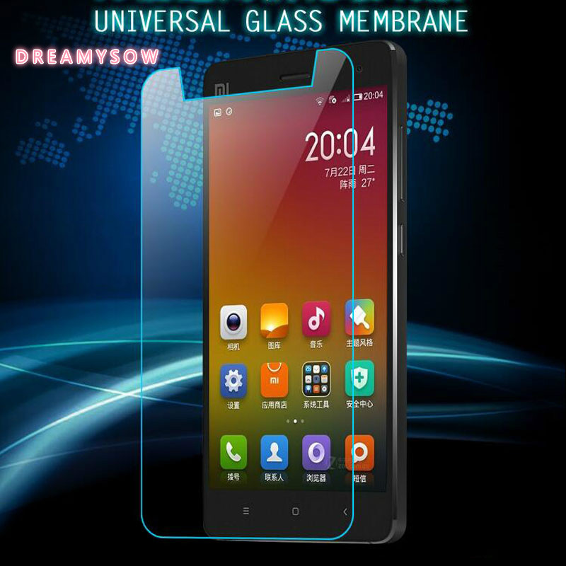 For Smartphone all series Without Home Key Universal Tempered Glass Premium Film For Coolpad Protective Guard with Clean Tools smartphone