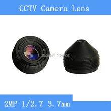 PU`Aimetis surveillance infrared camera HD 2MP lens 1/2.7 3.7mm M12 thread CCTV lens