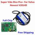 High Quality 2014D Super Vida Dice Pro+ Full Chip For Volvo Vida Dice Diagnostic Tool Supports J2534 Protocol With Plastic Box