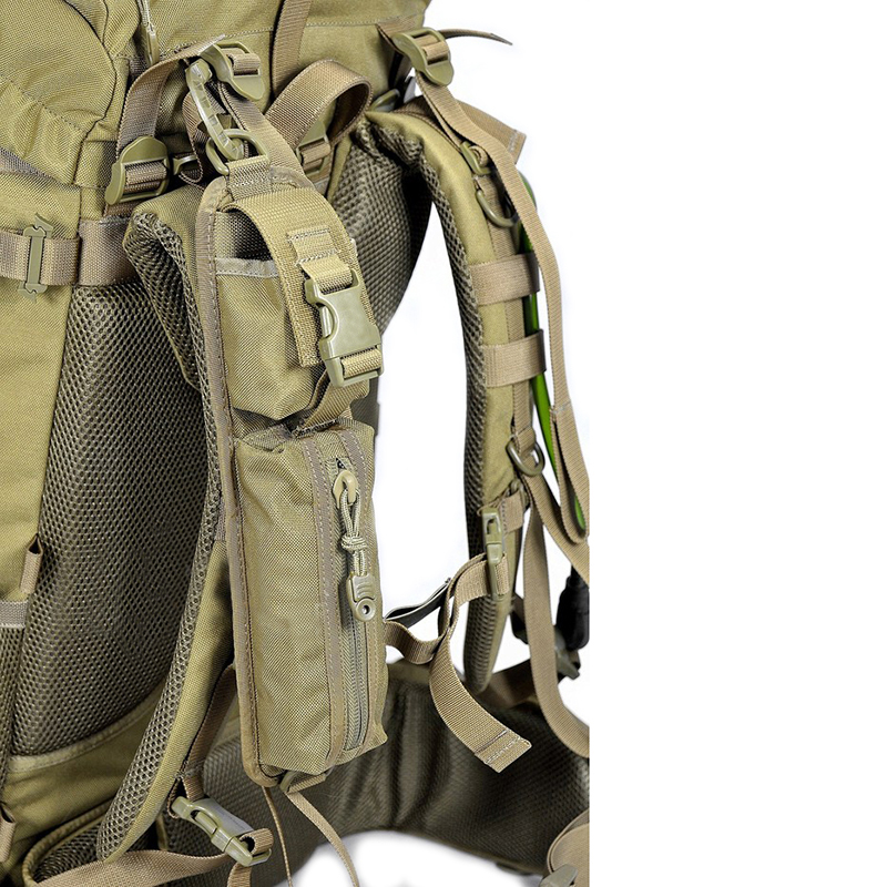 Tactical Shoulder Strap Sundries Bags for Backpack Accessory Pack Key Flashlight Pouch Molle Outdoor Camping EDC
