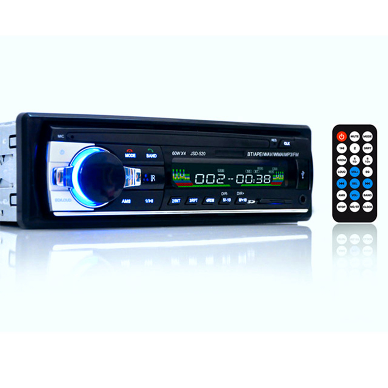 12 V Car Stereo FM Radio MP3 Reproductor de Audio mejor que el CD reproductor de