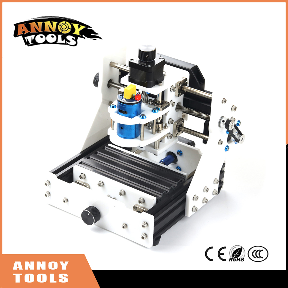 Eleksmill Mini Laser CNC 0.5-2.5w 3 Axis USB Desktop CNC Router Wood PCB PCB Milling Carving Engraving Machine Laser Kit 1610 mini cnc machine working area 16x10x3cm 3 axis pcb milling machine wood router cnc router for engraving machine