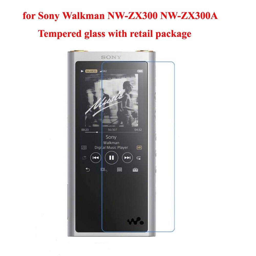 De course Chameau pour Sony Walkman NW-ZX300 NW-ZX300A ZX300 9 H Ultra Clair Protecteur D'écran En Verre Trempé De Protection Film