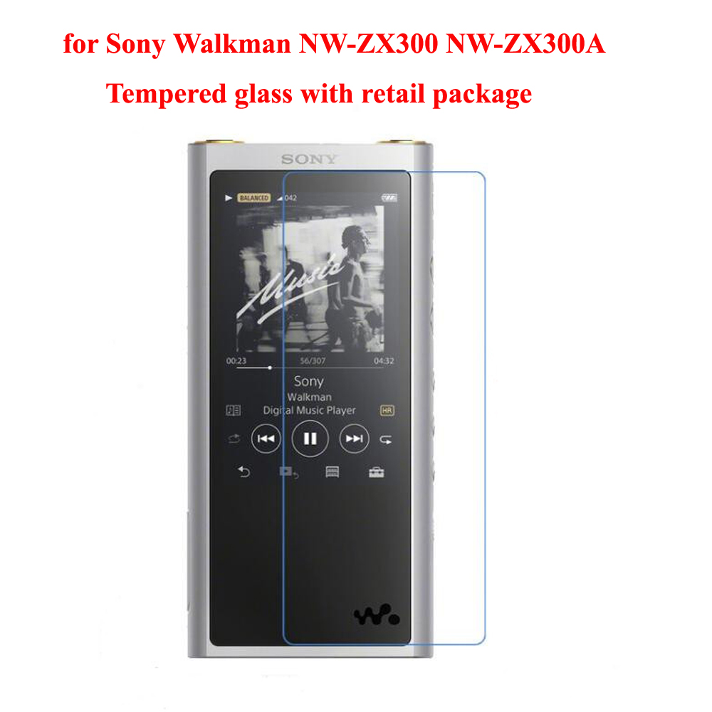 Galleria fotografica Running Camel for Sony Walkman NW-ZX300 NW-ZX300A ZX300 9H Ultra Clear Protective Screen Protector Tempered Glass Film