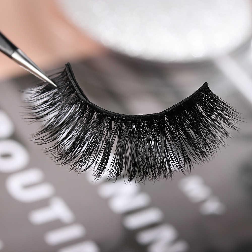 4 adet çift manyetik yanlış Eyelashes mıknatıslar üzerinde doğal kirpik uzatma araçları kullanımlık sahte göz Lashe tutkal içermeyen güzellik makyaj sıcak