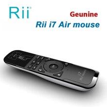 [Rii] мини Fly i7 Air Mouse 2.4 Г Беспроводной Игровой Motion Зондирования Дистанционного Управления Встроенный 6 Оси для ПК/Smart tv/Android Box/PS3