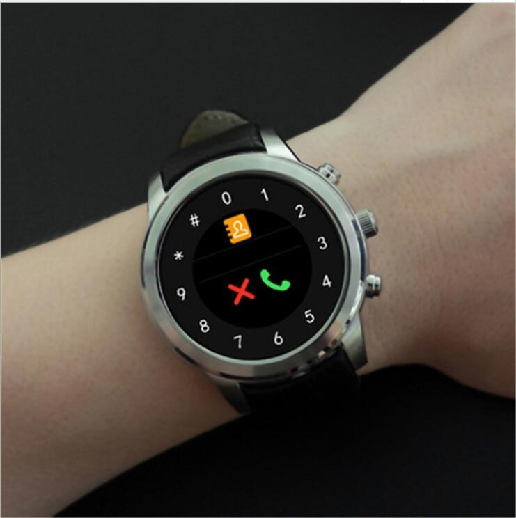 New X5air Smart Watch Android5.1 Wrist Watch Round Screen Smart Watch Wifi Bluetooth Card Heart Rate GPS PositioningWatch ISO