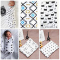 Infant Cotton Swaddle Towel Muslin Aden Anais Blankets Cute Newborn Baby Swaddling Blanket AU