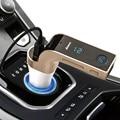 G7 Bluetooth Kit de Coche Manos Libres Transmisor FM Radio Reproductor de MP3 Cargador USB y AUX