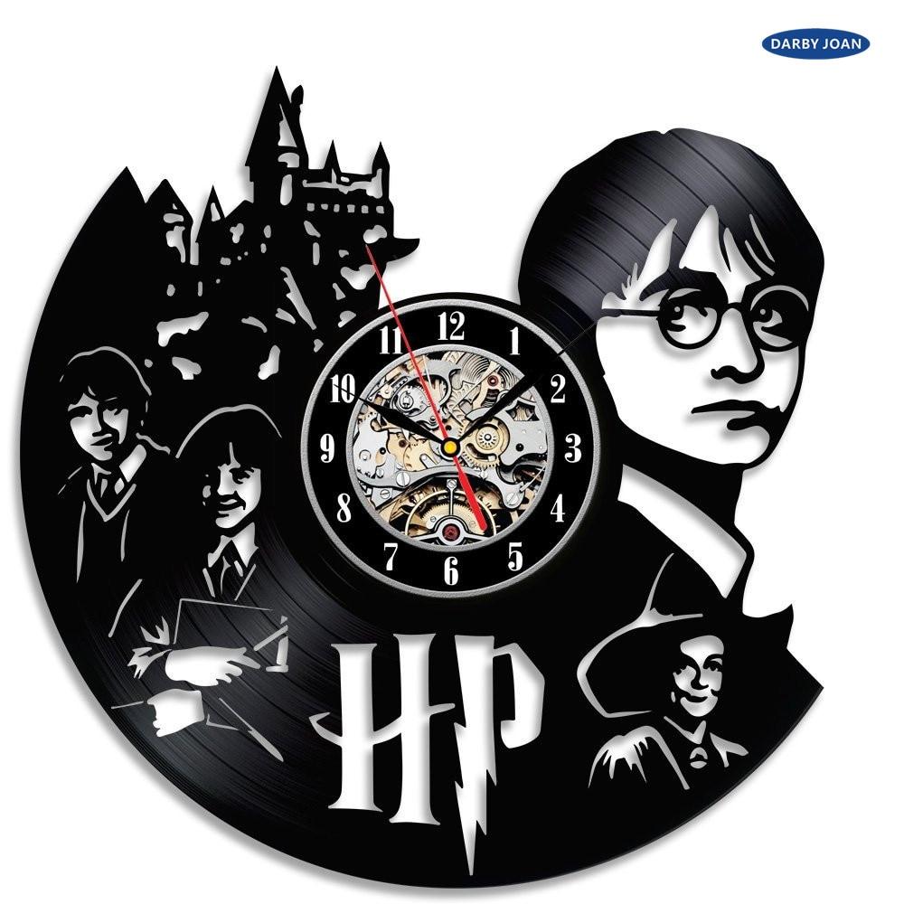 Harry Potter Hermione Schallplatte Wanduhr Dekorieren ihr haus ...