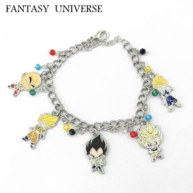Dragon Ball Characters Charm Bracelet