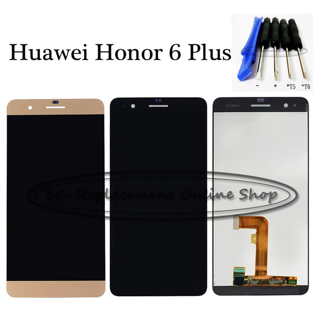 US $19 99  For Huawei Honor 6 Plus PE TL10 PE UL00 PE TL00M PE CL00 PE TL20  LCD DIsplay + Touch Screen Digitizer Assembly Replacement Tools-in Mobile