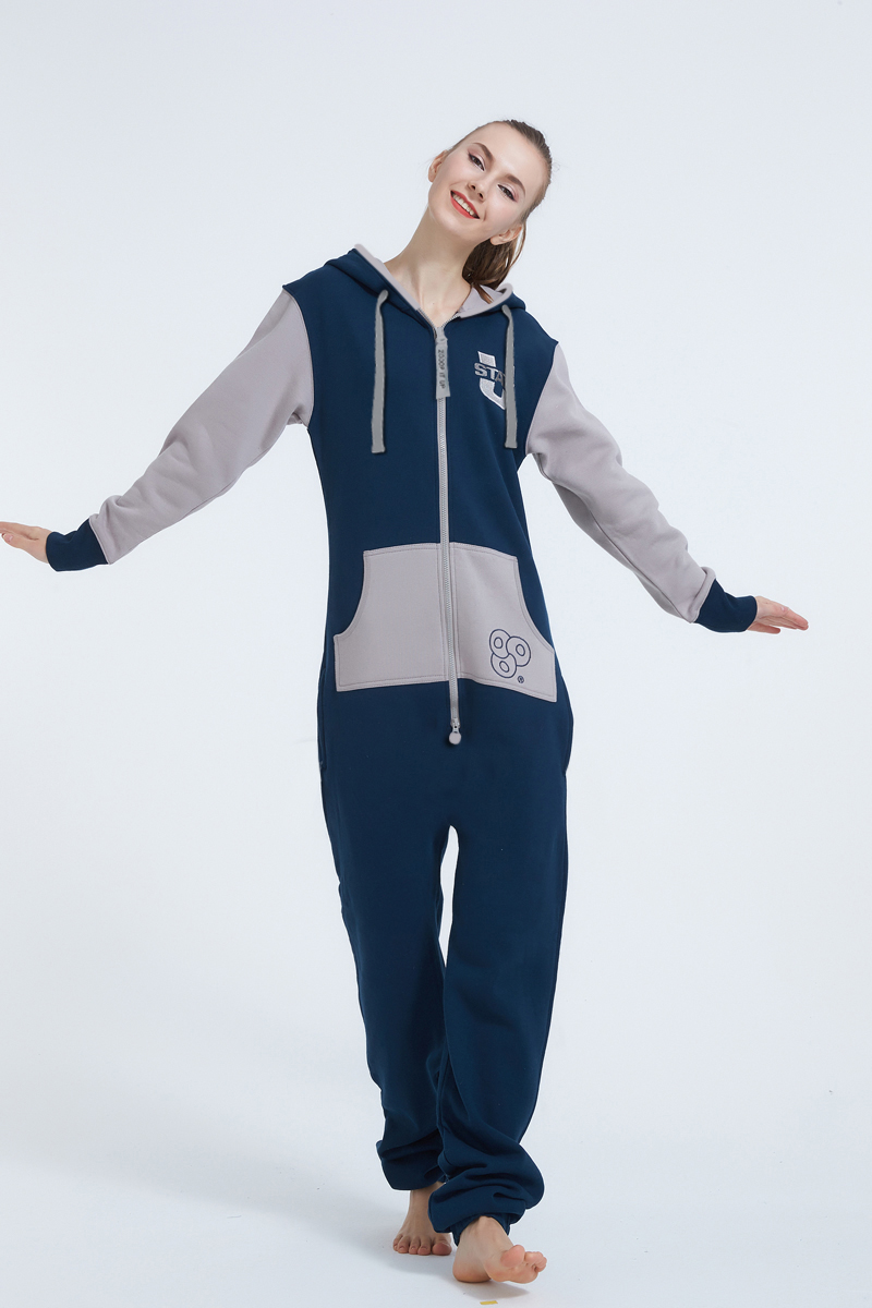 Nordic Way Overall Hoodie Fleece Onesies Women Romper ZOOOP IT UP One Piece Jumpsuit