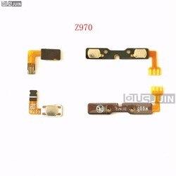 PEÇAS para ZTE Z970 1 Side Tecla De Volume de Energia ON/OFF Button Switch Substituição Ribbon Cable Flex Reparação de Reposição partes