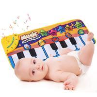 Baby Klavier Musik Spielmatte Tierstimmen Musical Tastatur Kriechende umfassende Kinder Geschenk pädagogisches teppich Elektronische spielzeug für kinder