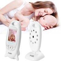 FIMEI Night Vision Infant Wireless Monitor Baby Digital Video Monitor Camera Audio Music Temperature Display Radio Nanny Monitor