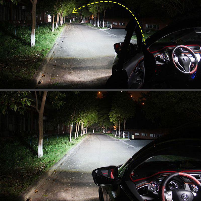 H4 H7 H11 H1 CSP LED Headlight 72W 16000LM Car LED Headlights Bulb ...