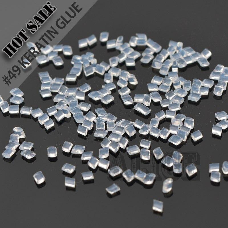 Италия кератина 100 г белый расплава клей жесткий клей кератин Итальянский кератин клей для волос