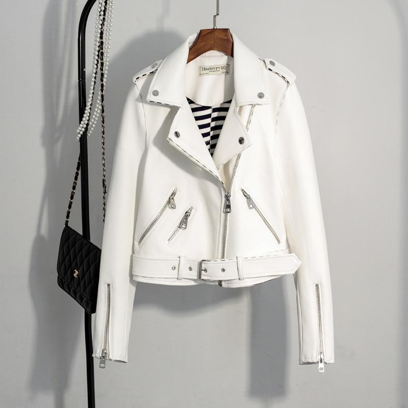 Fitaylor Vjeshtë Gratë Faux Suede xhaketë të hollë PU xhaketë - Veshje për femra - Foto 6