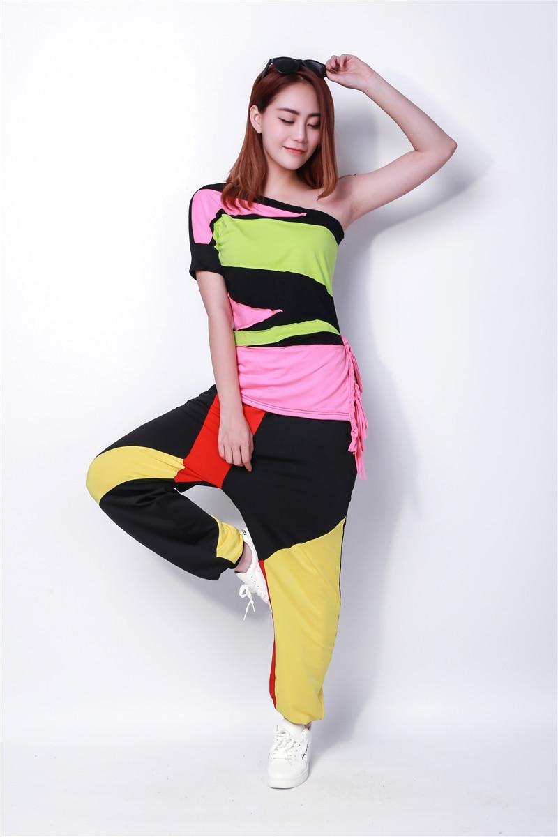 Nova modna blagovna znamka hip hop vrhunski ženski Jazz ds kostumski - Ženska oblačila - Fotografija 4