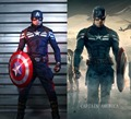 The Avengers 2 Captain America Cosplay Costume Superhero Outfit Carnival/Halloween Adult Costumes for Women/Men Custom Any Size