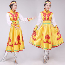 New Mongolia costumes ethnic costume grassland nomads women dance costumes Chinese minority clothing chinese minority clothing apparel mongolia cashmere clothes dance costume men cosplay costume mongolia gown robe