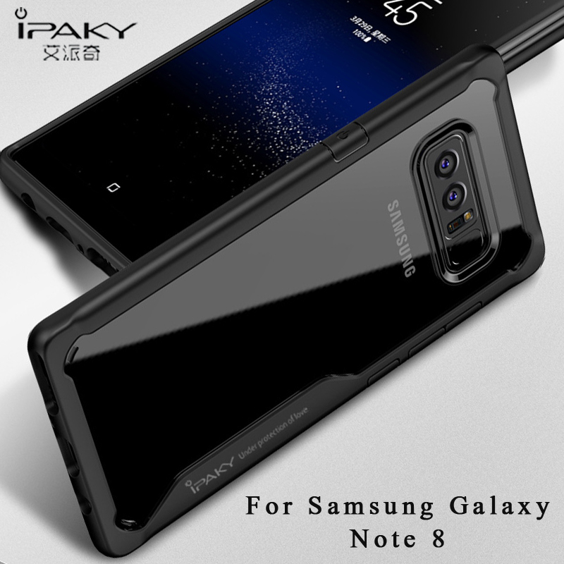 For samsung note 8  case Original ipaky Slim Transparent Case For samsung galaxy note 8 Silicone cover For samsung note8 cases