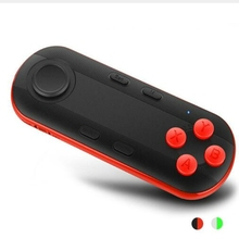1pcs Bluetooth Remote Controller wireless Gamepad Mini Wireless joystick For IOS Samsung Android for VR BOX 3d Games iOS PC TV