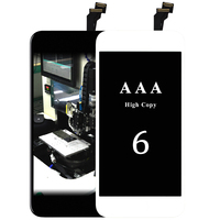 1pcs Highscreen LCD Display Touch Screen For IPhone 6g Lcd 4 7 Black White Fast Delivery
