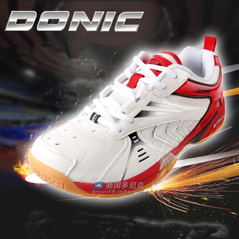 DONIC Tênis De Mesa Sapatos para homens confortáveis Sapatilhas Calçados Esportivos tenis de mesa de Ping Pong profissional