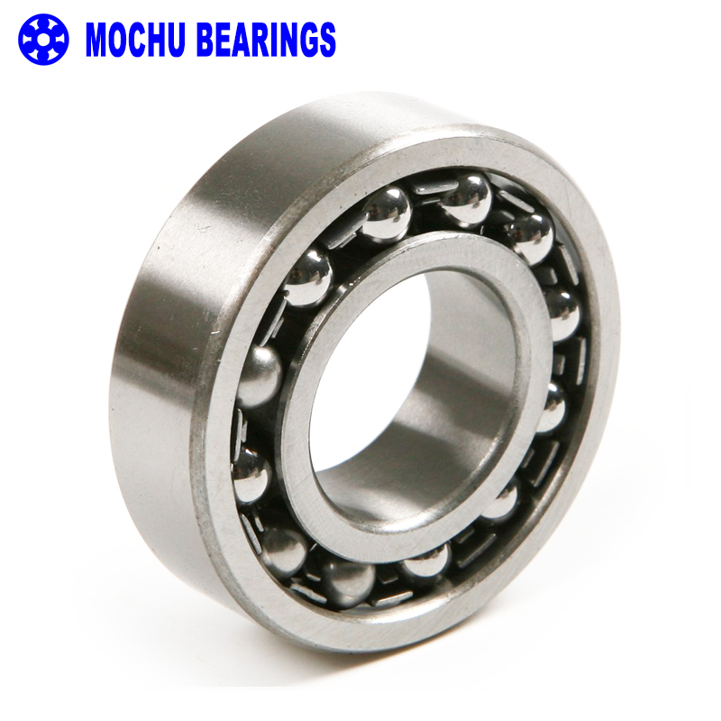 1pcs 1219 1219K 95x170x32 111219 MOCHU Self-aligning Ball Bearings Tapered Bore Double Row High Quality 1pcs 1206 30x62x16 self aligning ball bearings cylindrical bore double row brand new