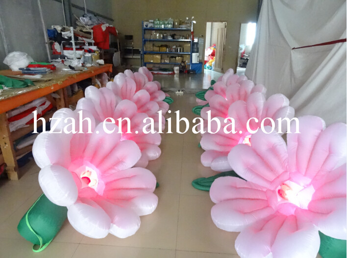 все цены на 5m Pink Inflatable Lighted Flower for Wedding