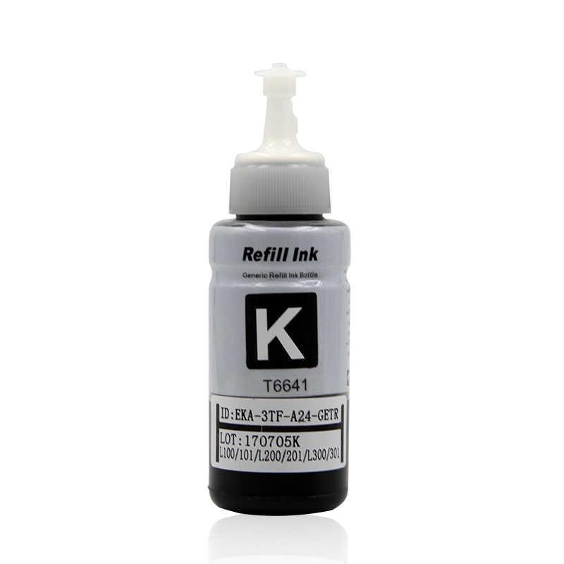 4 Warna Dye Berbasis Tinta Isi Ulang Kit Untuk Epson L100 L110 L120 L132 L210 L222 L300 L312 L355 L350 L362 l366 L550 L555 L566 Printer