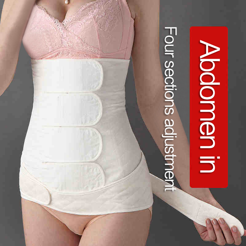 MUQIAN cotton maternity belly bands Postpartum support pregnancy bandage body recovery Postpartum Bandage Belly Band belt купить