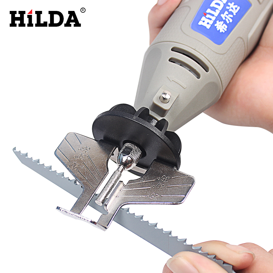 HILDA Saw Sharpening Attachment Sharpener Guide Drill Adapter for Dremel rotary tool set accessoriesHILDA Saw Sharpening Attachment Sharpener Guide Drill Adapter for Dremel rotary tool set accessories
