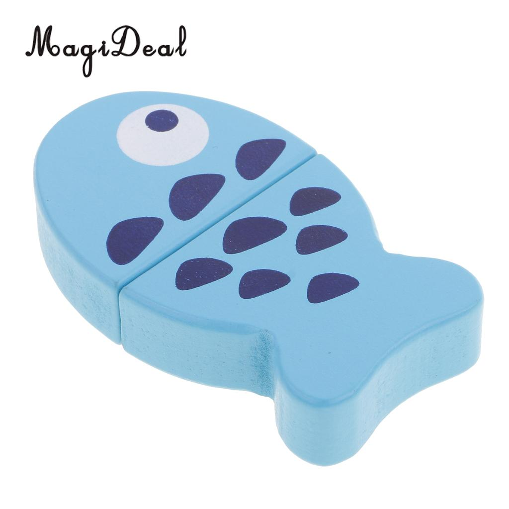 MagiDeal 1Pc Kitchen Fish Model Food Pretend Reusable Role Play Game ...