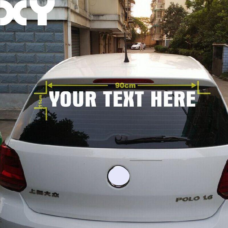 באיכות גבוהה אישית מדבקה לרכב מותאם אישית רעיוני מדבקות לרכב מדבקות ויניל עמיד למים