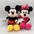 28-30 cm Mickey Mouse E Minnie Mouse Brinquedos de Pelúcia Animais de Brinquedo De Pelúcia bonecas de Brinquedo de Pelúcia